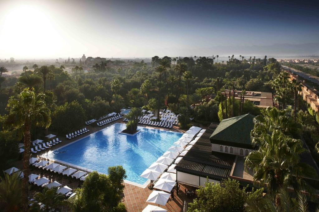 Tuin en zwembad La Mamounia Marrakech