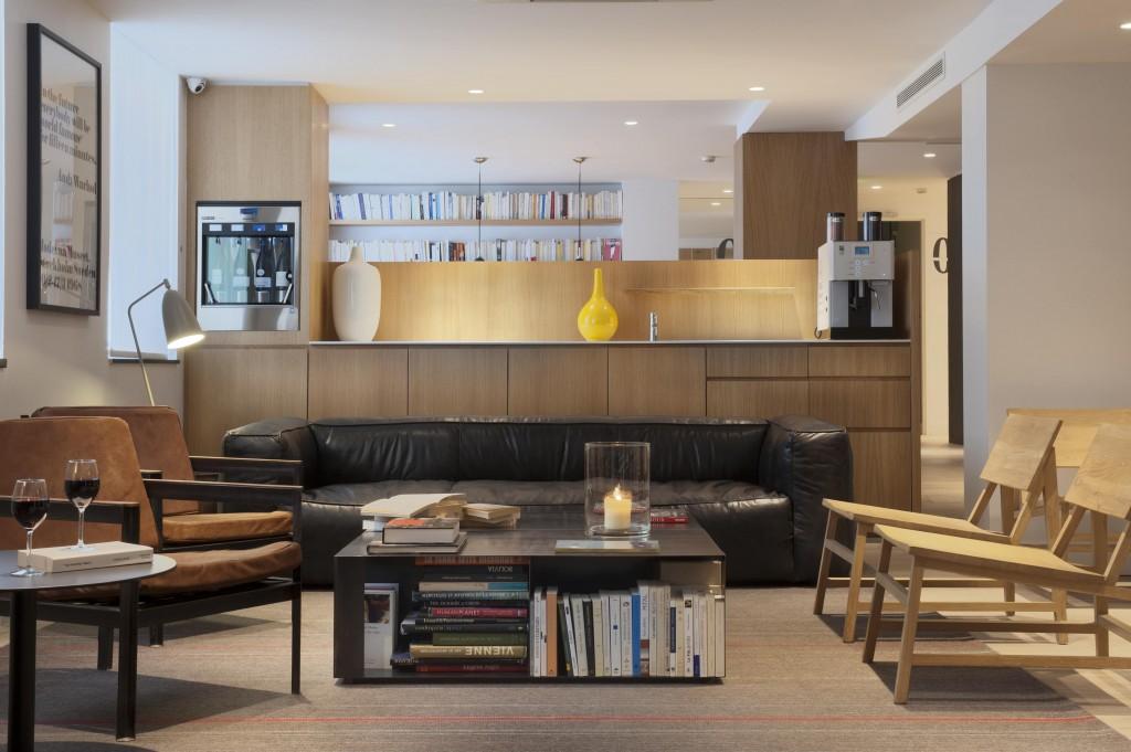 Lobby 9Hotel Opera Parijs