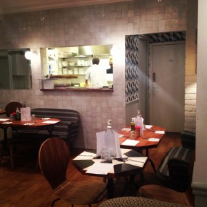 Keuken Cafe Pinson (foto: Caperleaves)