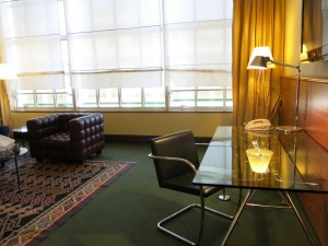 Onze suite in NH Lingotto (foto: Caperleaves)