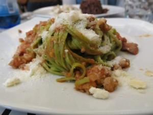 Pasta en salade San Salvario (foto: Caperleaves)
