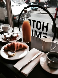 Hotel Emile Paris breakfast