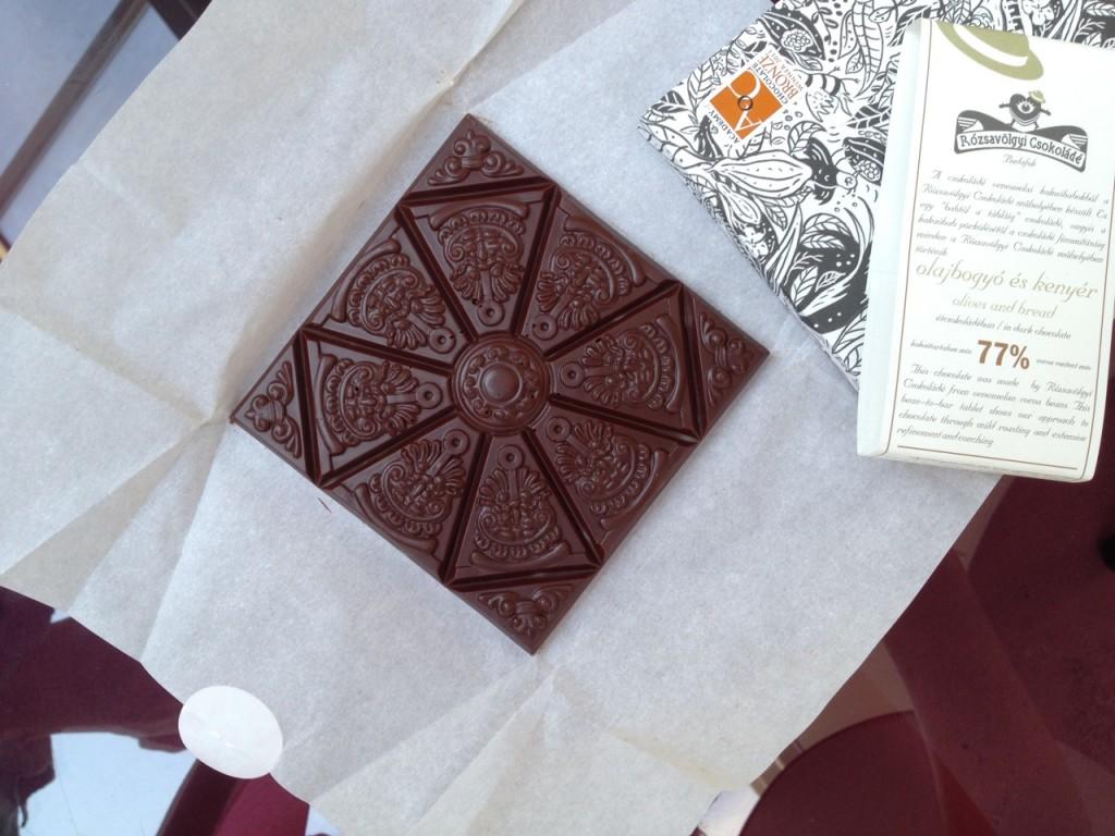 Chocolatl uitgepakte reep (foto: Caperleaves)