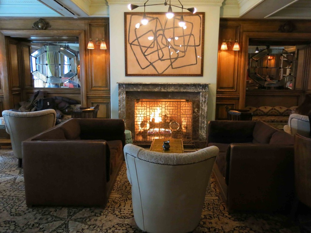 Lobby The Marlton Hotel (foto: Caperleaves)