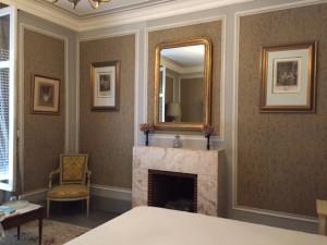 Kamer en badkamer Villa Roffa (foto's: Caperleaves)