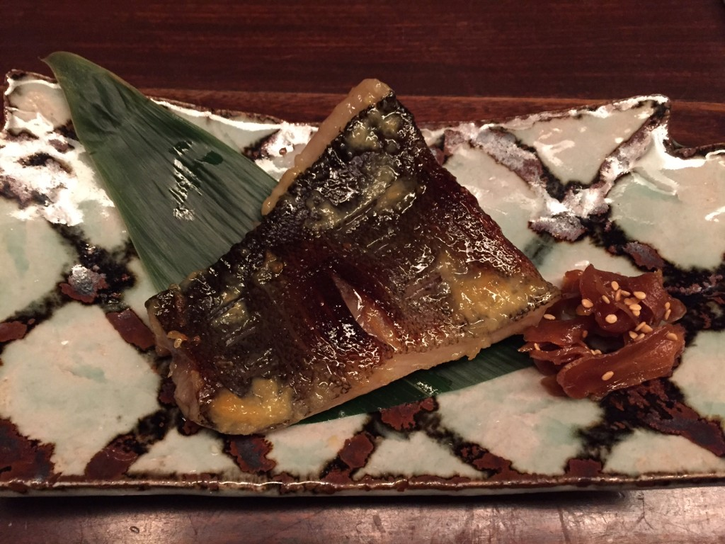 Black cod miso Maru Tokyo (foto: Caperleaves)