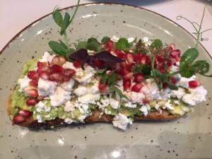 Eten bij Cafe Georgette (foto's Caperleaves)